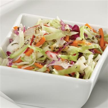 Coleslaw with Basil Garli